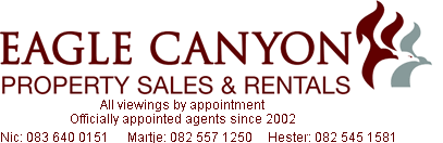 Eagle Canyon Property Sales and Rentals