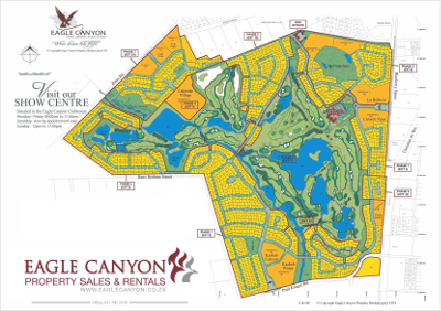 Eagle Canyon Map